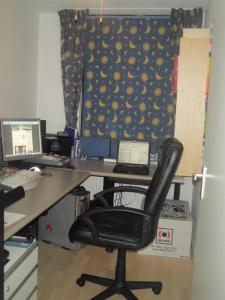 Mijn nieuwe computerkamer