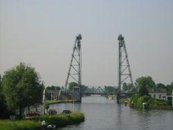 De hefbrug van Alphen a/d Rijn