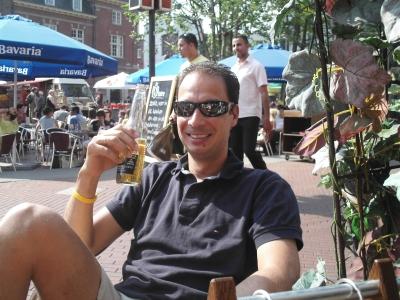 RR aan het bier