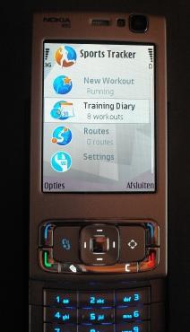 N95 met Sport Tracker