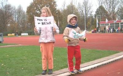 Kids bij Zegerplasloop