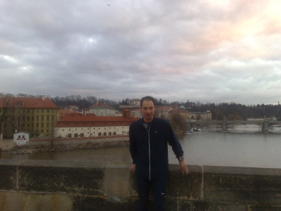 RR, uitzicht op de Moldau