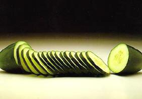 Komkommer, recht of krom