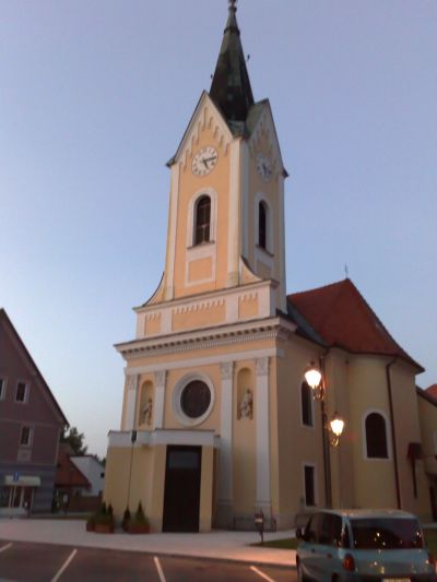 kerk in Brezice