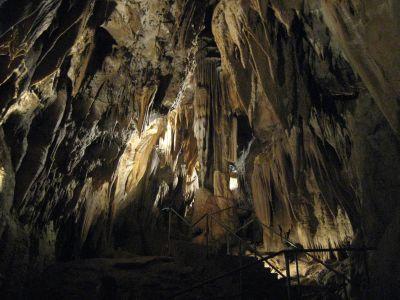 de grotten van Kostanjeviska