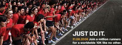 Zondag: Nike+ Human Race