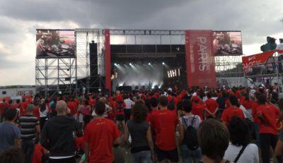 Human Race concert