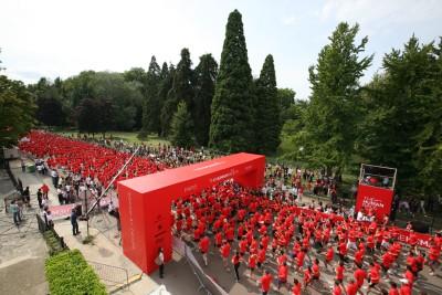 5000 runners in Parijs
