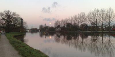 Ochtendloop langs de Oude Rijn