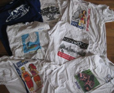 Oude shirts