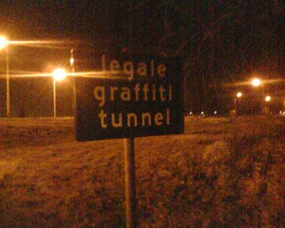 Grafitti Tunnel
